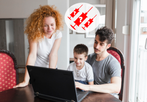portrait-family-looking-laptop-table_23-2147909379